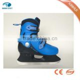 2015 new design high quality and upscale ice skating shoes & hockey skates for ice rink