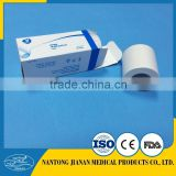 Zinc Oxide Plaster ( ZOP ), Surgical adhesive plaster , Medical tape , Skin and white color