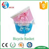 Bicycle accessories china wholesale plastic bicycle basket for kids