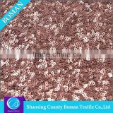 Dress fabric supplier Fashion Polyester embroidery beads net fabric