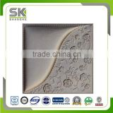 Leather 3D Wandpaneele decoration wall panel decor walls and ceiling decorative producted by leather instead of wall