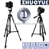 High Quality Tripods Foldable Aluminum Light Weight video Tripod for DSLR camera