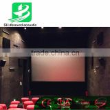 Acoustic Sound Absorber/ Fabric Track wall/ Fabric Wall Pane for home theater