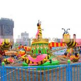 Funny & Attractivve!! Outdoor/indoor Flying Bees Popular Amusement Park Rotary Bee Ride