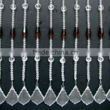 loose oval glass stone crystal crafts curtain,curtain
