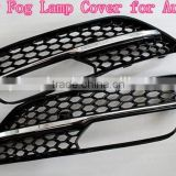 Fog Lamp Cover For 2013 Audi A3 RS3 Bumper Grille