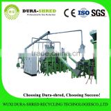 Dura-shred high capacity petrol garden shredder chipper