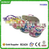 Cheap Printed Summer girl flip flops slippers Hot girls fashion flip flops