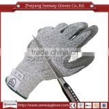 SEEWAY HHPE Palm PU Coated Working Safety Cut Resistant Gloves                                                                         Quality Choice