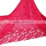 Hangzhou red lace material / swiss guipure lace dresses / wholesale bridal fabrics For Kids