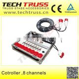 CT-8 Controll 8 Channels Electric Hoist CE Certificated New Design Electric Chain Hoist Remote Control