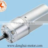 High Torque 24V DC motor with Gearbox