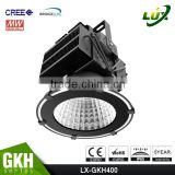 Meanwell Driver, 5 Years Warranty, CE ROHS Approved, Stadium Light, Copper Heat Pipe Design, 400W High Power LED Flood Light