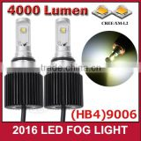 9006 40W 12v Super Bright Car LED Front Headlights High Power Light Bulb Fog Lamp suzuki swift
