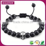 Promotional Items 2016 Men Skull Loom Bead Bracelet