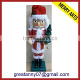 Wooden Nutcracker for promotion wholesale toy soldier nutcracker outdoor&indoor nutcracker