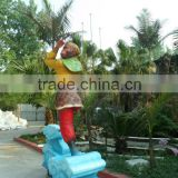 Modern Best sold Figure Cast Bronze Sculpture for outdoor decoration