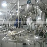 Industrial stainless steel steam jacketed kettle with agitator