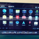 7'' 2 din in-dash android OS car dvd player DM7835C with dual BT,, TV/Radio/audio /removable MID etc. for call cars.