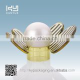 GC-2473 bee-shaped PP pearl with K resin wing plastic perfume cap