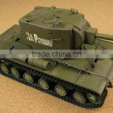 Hot sales! 1:24 electronic RC Tank Metallic Lamp Machine Guns and Hatch Joint