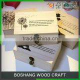 Custom Packing Box Wholesale Gift Box Wood Box                                                                         Quality Choice