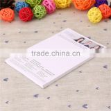 School supplies free sample custom memo pad/ custom design school note book
