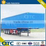 CITC brand 2axles/3axles cargo semi trailer container semi trailer with 2015 best chinese brand truck tire