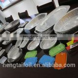 Airline Aluminium Foil Container With Colorful Coating