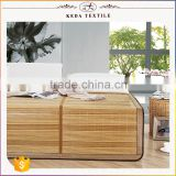 Made in China alibaba home textile supplier custom made natural summer bamboo sleeping mat