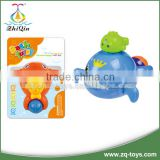 Good quality baby toy wind up toy whale bath toys for baby