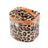 Animal Print Leopard Cosmetic Make Up Bag Case Or Small Toiletry Wash Bag (Leopard Print)