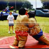 2016 Hot sales kids and child's sumo wrestler costume sumo suits sumo gonflable