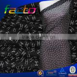 polyester chiffon printed fabric heat transfer printing with flower design