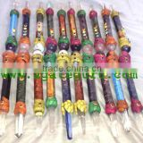 Mix Tibetan Chakra Healing Stick Design Lot : Tibetan Healing wands from Agate Guru Exports