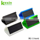 5V 2A Dual USB Portable Solar Charger for Mobile Phone Foldable Solar Power Bank 5000mah with Flashlight                                                                         Quality Choice