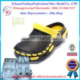 Hot Style Men Eva Injection Slipper Mould , Two Color Eva Slippers Sandal Shoes Moulds, outdoor EVA Slippers moulds