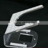 security display stand for cell phone accessories retail display stands/ tablet security alarm stand
