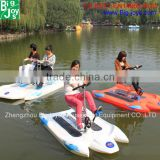 hign quality new design amusement park cheap adult water bicycle for sale