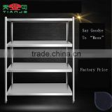 TJG Adjustable Steel Shelving Storage Rack Shelves Commercial Kitchen School Equipment