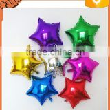 2015 hot sell! cheap star and moon helium foil balloon / aluminium balloon party and wedding decoration for promotion gift