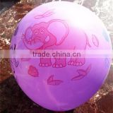 hot sales printed advertising latex balloon/ballon/baloon