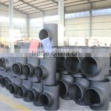 1/2''-80'' seamless butt welding carbon steel tee, pipe tee, reduced tee