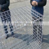 welded gabion stone cage box/ welded gabion factory (china ) steel wire stone fence with great price