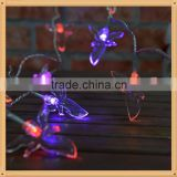 Holiday&Party decoration waterproof small color change led button battery operated micro led fairy light