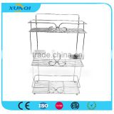 3 Tier Chrome Wire Storage Rack for Bathroom /Corner Rack/Shower Caddy/Bathroom Shelver DSCN1440
