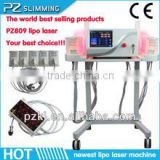 2014 new arrival!!dual wavelength lipo light laser / i lipo laser cellulite reduction / laser lslimming machine for home use