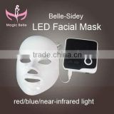 Safey Acne treatment 100% natural silk led mask pdt in china