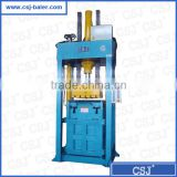 CE certificate more than 20 years Factory supply vertical packing machine used clothing baling machine