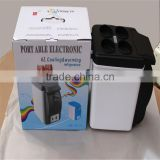 Wholesale 6L 4 Cup Grooves Portable Heating Box Mini Electronic Refrigerator For Car